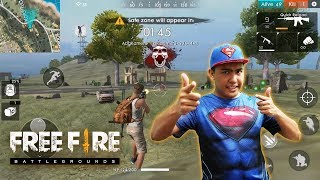 TEMBAK! Garena Free Fire Battlegrounds MOBILE  - Online Multiplayer Battle Royale Game