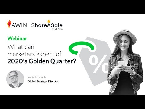 Webinar: What can marketers expect of 2020's Golden Quarter?