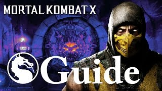 Mortal Kombat X: How to Open the Spider Cave Krypt Door with Levers