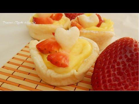 Cestini di pasta brisè dolci Ricette di MarGi
