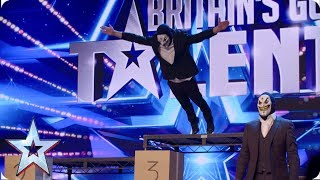 Brotherhood put their lives in the Judges' hands! | Auditions | BGT 2019