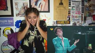 DIMASH ADAGIO REACTION [ Nadia ]