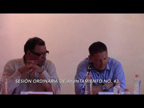 Sesión Ordinaria No.43 de Ayuntamiento 27 de septiembre de 2017