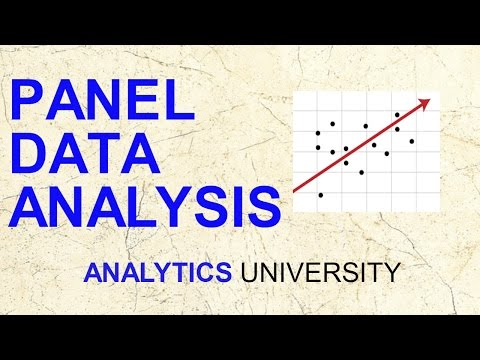 Panel Data Analysis   Econometrics   Fixed effect Random effect ...