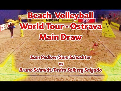 Beach Volleyball - Ostrava - Sam Pedlow/Sam Schachter (CAN) Vs Bruno Schmidt/Salgado (BRA)