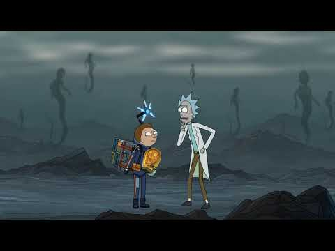 Death Stranding Rick and Morty Crossover Advertsiment