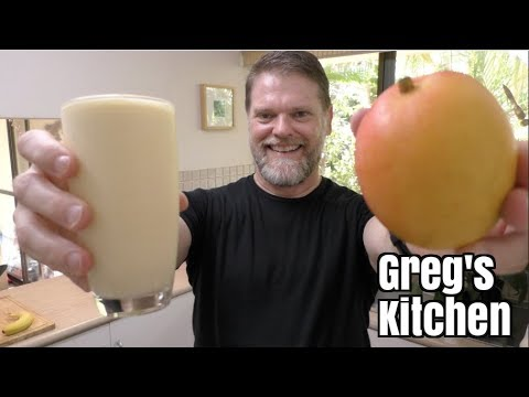 Mango Smoothie Drink Recipe – Greg's Kitchen