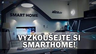 Bydlení budoucnosti: Vyzkoušejte si SmartHome! - AlzaTech #671