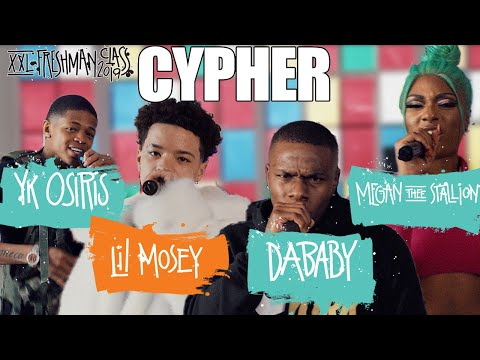 , title : 'DaBaby, Megan Thee Stallion, YK Osiris and Lil Mosey's 2019 XXL Freshman Cypher'