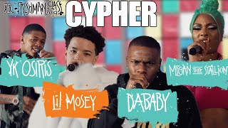 DaBaby, Megan Thee Stallion, YK Osiris and Lil Mosey's 2019 XXL Freshman Cypher