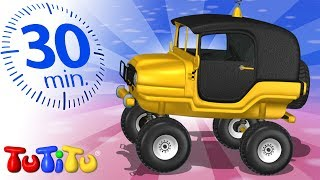 Toys on Wheels | Jeep | TuTiTu Specials | 30 Minutes Special
