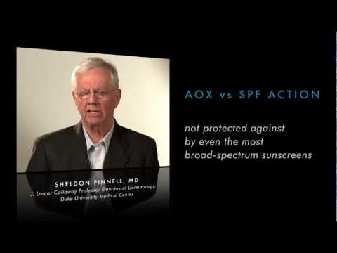Antioxidant different from a Sunscreen