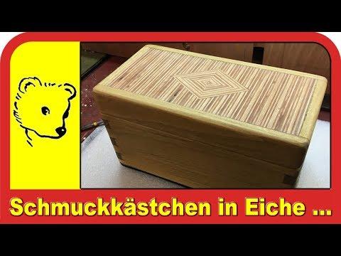 Schmuckkästchen in Eiche  -  Jewelery box in oak
