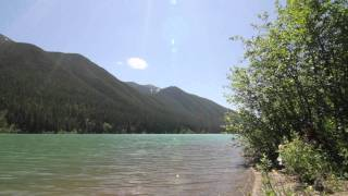 Trip video of hike to Harrison Lake.