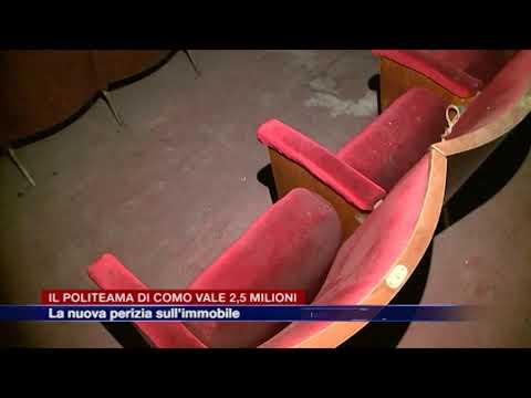 Etg - Il Politeama di Como vale 2,5 milioni, il valore stimato dalla nuova perizia sull'immobile