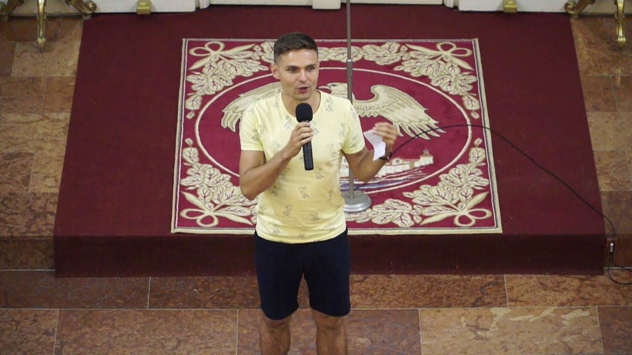 Púť mladých v Ľutine, 18.8.2017, Svedectvo: Tomáš Surovec