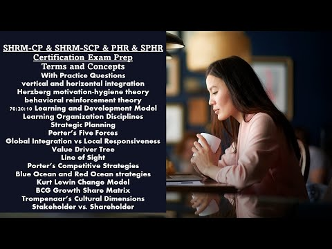 SHRM-CP & SHRM-SCP & PHR & SPHR Certification Exam.Terms ...