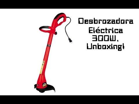Desbrozadora (cortadora De Césped) Eléctrica De 300w, Unboxing