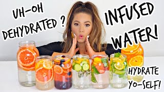 Fruit Infused Water | 5 Anti Aging Detox Spa Water Recipes, For Total Hydration