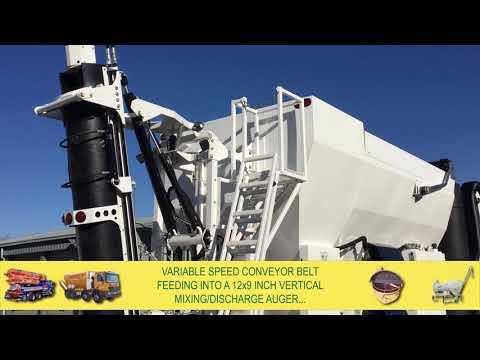 HM12H-E Volumetric Concrete Mixers