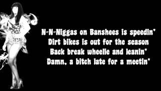 Nicki Minaj - HOV Lane Lyrics Video