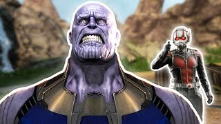 Antman vs Thanos... End Game spoilers? - VRCHAT
