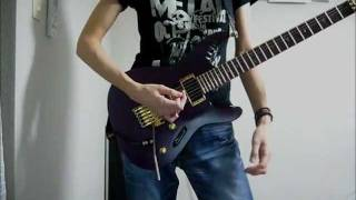 Dragonforce - Heroes of our time(Guitar cover)