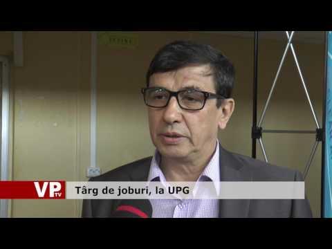 Târg de joburi, la UPG