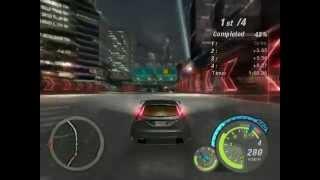 Need For Speed Underground Final Race : Melissa (Hard /W