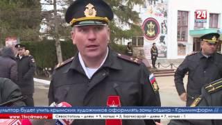 Морская пехота Черноморского флота отметила свой день рождения в Севастополе