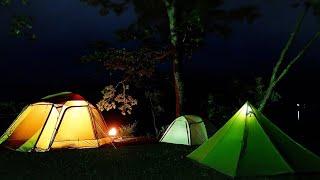 2泊3日の十和田湖キャンプ前編青森県十和田市宇樽部キャンプ場