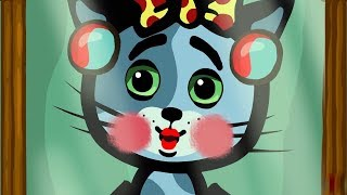 Развивающие и обучающие песенки для детей - Три котенка: Помада (Как мама) теремок песенки
