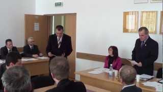XXX sesja Rady Miejskiej w Dukli