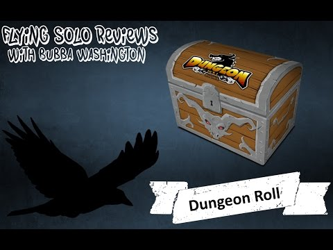 Dungeon Roll, A Solo Board Game Review