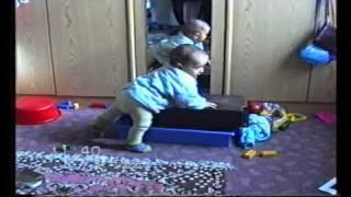 Baby hits his head..
