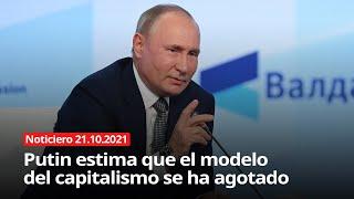 """VLADIMIR PUTIN: """"EL MODELO CAPITALISTA SE HA AGOTADO"""""""