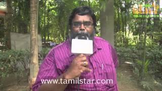 Madurai Selvam at Seeni Movie Shooting Spot
