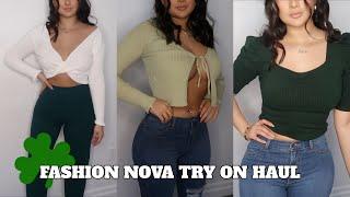 ST. PATRICKS DAY TRY ON HAUL | Fashion Nova