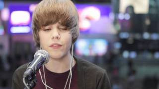 Justin Bieber - Acoustic Favorite Girl Live MTV 2009 (High Quality Mp3)