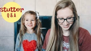 Stutter Q & A - (4 years old)