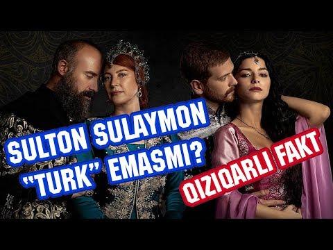 """Sulton Sulaymon """"TURK"""" emasmi? BARCHA 34ta Sultonlarning onalari TURK EMAS!  BU QIZIQ!"""