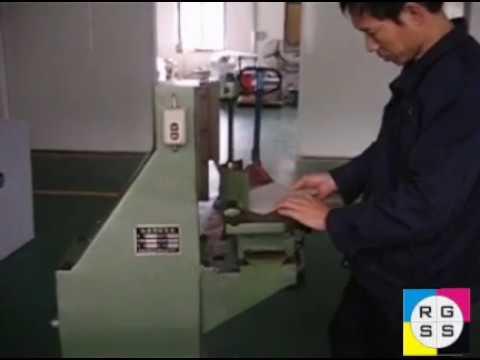 Unitec Electric Round Corner Cutting Machine