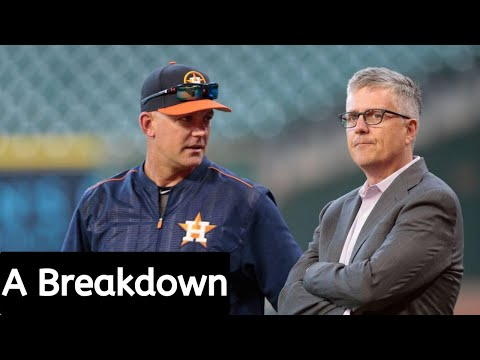 AJ Hinch And Jeff Luhnow Fired By Astros