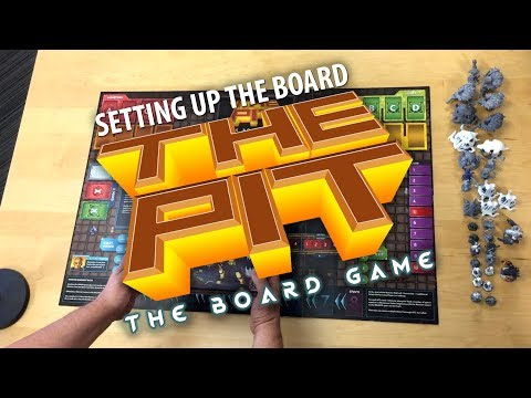The Pit: The Board Game - Setting Up The Board