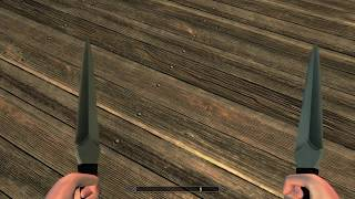 Skyrim Special Edition Mod Review Kunai Stealthy_Wolf