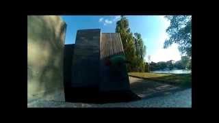 preview picture of video 'The Spashers - Chill i Södertälje parkourpark'