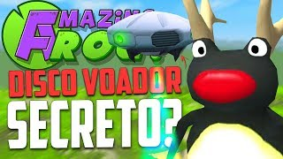 DISCO VOADOR SECRETO!! - Amazing Frog