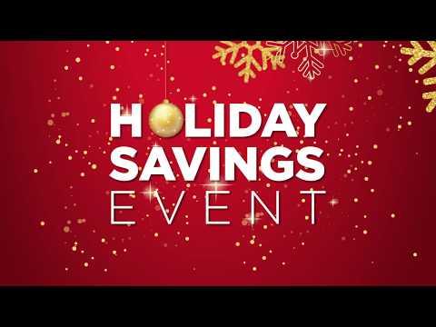 Holiday Savings Event - 2018