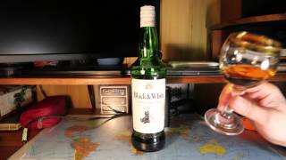 "BLENDED SCOTCH WHISKY ""Black & White""шотландский купажированный виски Влек энд Уайт"