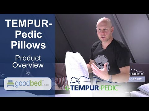 TEMPUR-Pedic 2018 Pillows EXPLAINED by GoodBed (VIDEO)
